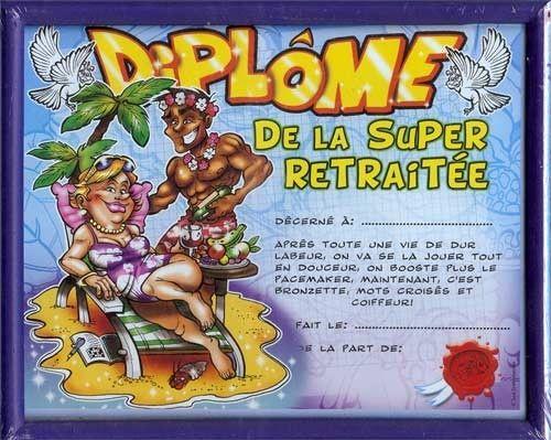 Diplomes humoristiques for Diplome de cuisine a imprimer